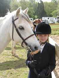 Sir Owen: Welsh Pony Section B gelding; born 1996; 13.3 hands; grey